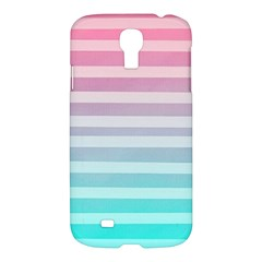 Colorful Vertical Lines Samsung Galaxy S4 I9500/i9505 Hardshell Case by Brittlevirginclothing