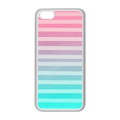 Colorful Vertical Lines Apple Iphone 5c Seamless Case (white) by Brittlevirginclothing