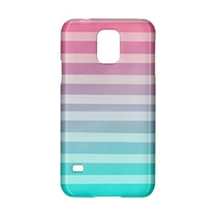 Colorful Vertical Lines Samsung Galaxy S5 Hardshell Case  by Brittlevirginclothing