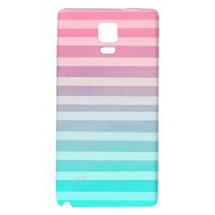 Colorful Vertical Lines Galaxy Note 4 Back Case by Brittlevirginclothing