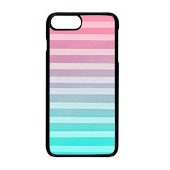 Colorful vertical lines Apple iPhone 7 Plus Seamless Case (Black)