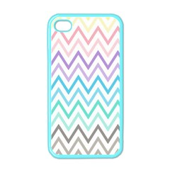 Colorful Wavy Lines Apple Iphone 4 Case (color) by Brittlevirginclothing