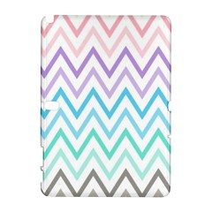 Colorful Wavy Lines Galaxy Note 1 by Brittlevirginclothing