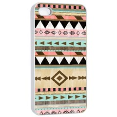 Dark Bohemian Apple Iphone 4/4s Seamless Case (white) by Brittlevirginclothing