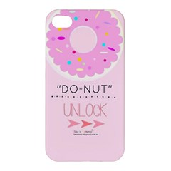 Yummy Donut Apple Iphone 4/4s Premium Hardshell Case by Brittlevirginclothing