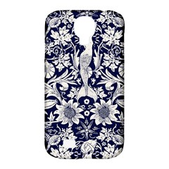 Deep Blue Samsung Galaxy S4 Classic Hardshell Case (pc+silicone) by Brittlevirginclothing