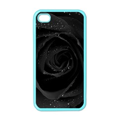 Black Rose Apple Iphone 4 Case (color) by Brittlevirginclothing