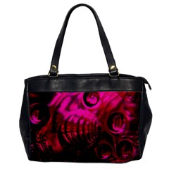 Abstract Bubble Background Office Handbags by Amaryn4rt