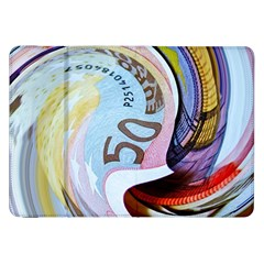 Abstract Currency Background Samsung Galaxy Tab 8 9  P7300 Flip Case