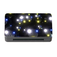 Abstract Dark Spheres Psy Trance Memory Card Reader With Cf by Amaryn4rt