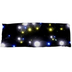 Abstract Dark Spheres Psy Trance Body Pillow Case Dakimakura (two Sides)