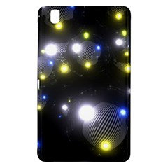 Abstract Dark Spheres Psy Trance Samsung Galaxy Tab Pro 8 4 Hardshell Case by Amaryn4rt