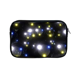 Abstract Dark Spheres Psy Trance Apple Macbook Pro 13  Zipper Case by Amaryn4rt