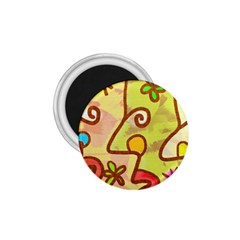 Abstract Faces Abstract Spiral 1 75  Magnets by Amaryn4rt