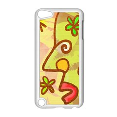 Abstract Faces Abstract Spiral Apple Ipod Touch 5 Case (white) by Amaryn4rt