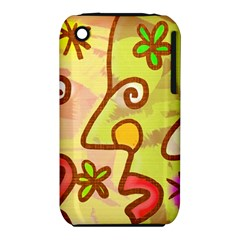 Abstract Faces Abstract Spiral Iphone 3s/3gs by Amaryn4rt