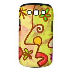 Abstract Faces Abstract Spiral Samsung Galaxy S Iii Classic Hardshell Case (pc+silicone)