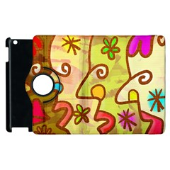 Abstract Faces Abstract Spiral Apple Ipad 2 Flip 360 Case by Amaryn4rt