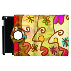 Abstract Faces Abstract Spiral Apple Ipad 3/4 Flip 360 Case by Amaryn4rt