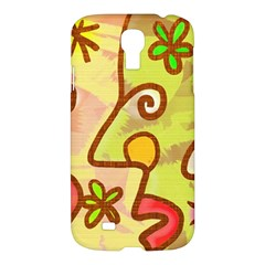 Abstract Faces Abstract Spiral Samsung Galaxy S4 I9500/i9505 Hardshell Case