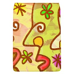 Abstract Faces Abstract Spiral Flap Covers (S)