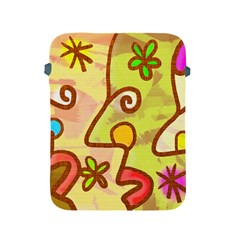 Abstract Faces Abstract Spiral Apple Ipad 2/3/4 Protective Soft Cases by Amaryn4rt