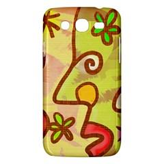 Abstract Faces Abstract Spiral Samsung Galaxy Mega 5.8 I9152 Hardshell Case