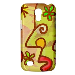 Abstract Faces Abstract Spiral Galaxy S4 Mini by Amaryn4rt