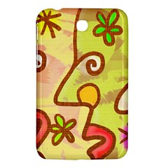 Abstract Faces Abstract Spiral Samsung Galaxy Tab 3 (7 ) P3200 Hardshell Case