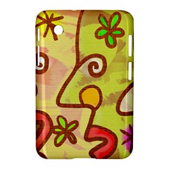 Abstract Faces Abstract Spiral Samsung Galaxy Tab 2 (7 ) P3100 Hardshell Case  by Amaryn4rt