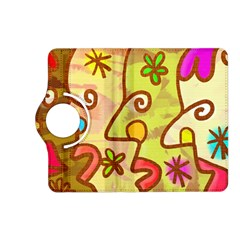 Abstract Faces Abstract Spiral Kindle Fire Hd (2013) Flip 360 Case by Amaryn4rt