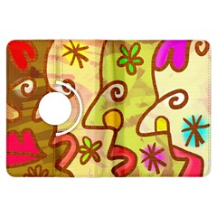 Abstract Faces Abstract Spiral Kindle Fire Hdx Flip 360 Case by Amaryn4rt