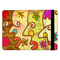 Abstract Faces Abstract Spiral Samsung Galaxy Tab Pro 12 2  Flip Case by Amaryn4rt