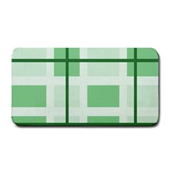 Abstract Green Squares Background Medium Bar Mats by Amaryn4rt