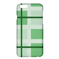 Abstract Green Squares Background Apple Iphone 6 Plus/6s Plus Hardshell Case by Amaryn4rt