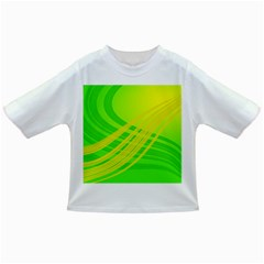 Abstract Green Yellow Background Infant/toddler T Shirts