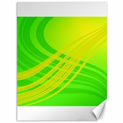 Abstract Green Yellow Background Canvas 36  X 48