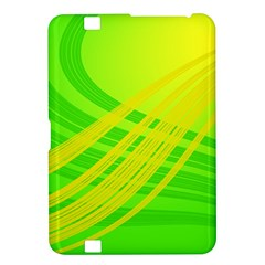 Abstract Green Yellow Background Kindle Fire Hd 8 9  by Amaryn4rt