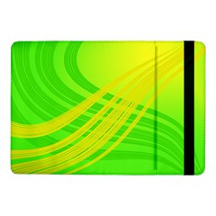 Abstract Green Yellow Background Samsung Galaxy Tab Pro 10 1  Flip Case