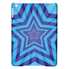 Abstract Starburst Blue Star Ipad Air Hardshell Cases by Amaryn4rt