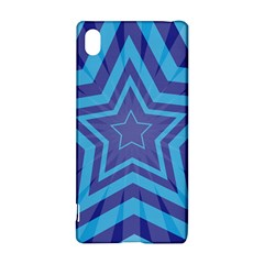 Abstract Starburst Blue Star Sony Xperia Z3+ by Amaryn4rt