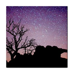 Arches National Park Night Face Towel by Amaryn4rt