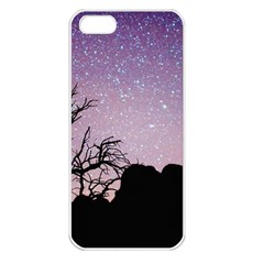 Arches National Park Night Apple Iphone 5 Seamless Case (white)