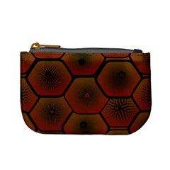 Art Psychedelic Pattern Mini Coin Purses
