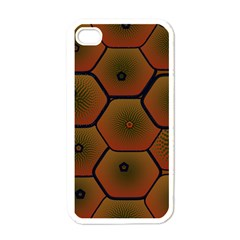 Art Psychedelic Pattern Apple Iphone 4 Case (white) by Amaryn4rt