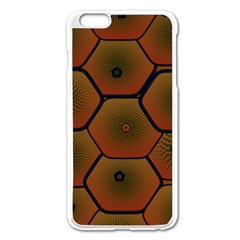 Art Psychedelic Pattern Apple Iphone 6 Plus/6s Plus Enamel White Case by Amaryn4rt