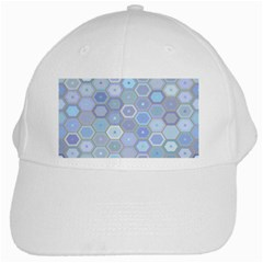 Bee Hive Background White Cap by Amaryn4rt