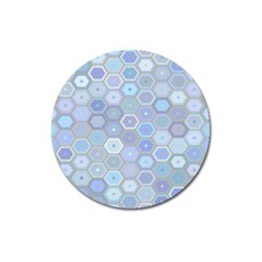 Bee Hive Background Magnet 3  (round) by Amaryn4rt