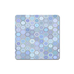 Bee Hive Background Square Magnet by Amaryn4rt