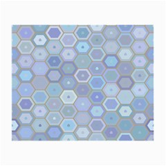 Bee Hive Background Small Glasses Cloth by Amaryn4rt